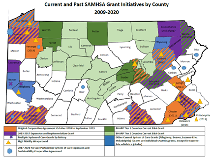 Pennsylvania System of Care Map_May 2020