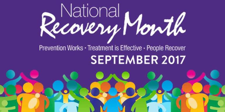 Image result for national recovery month september 2017